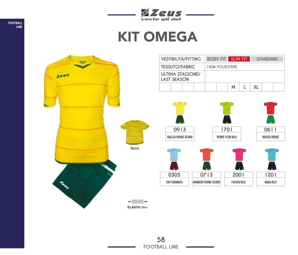 Stroje piłkarskie Zeus Kit Omega