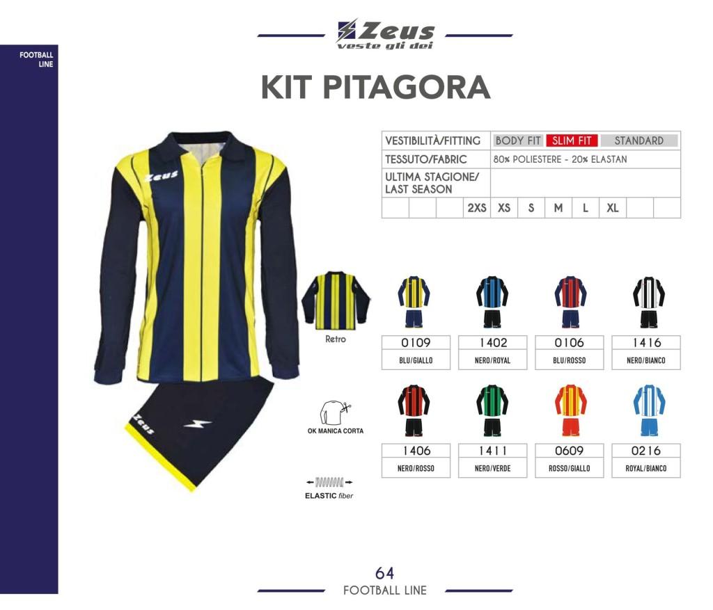 Stroje piłkarskie Zeus Kit Pitagora