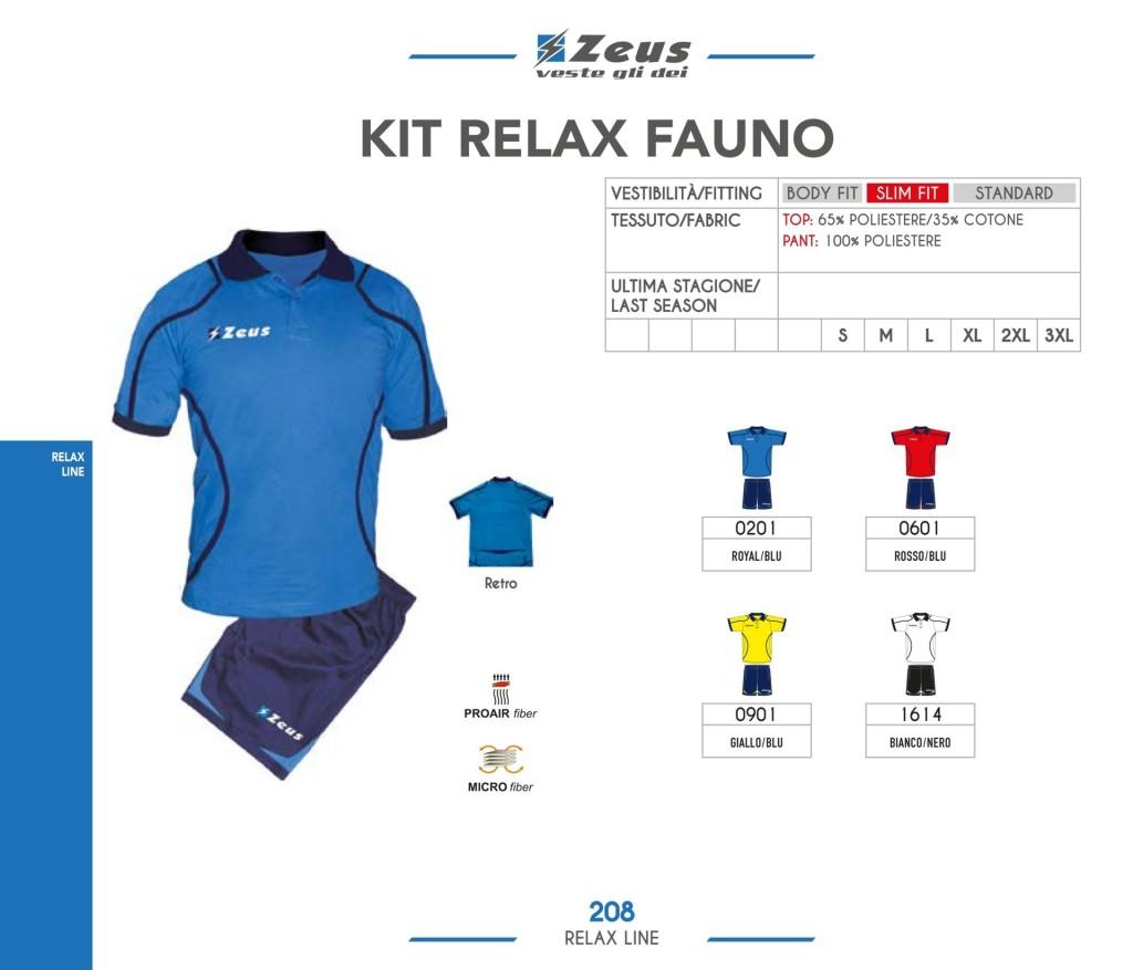Odzież Zeus Kit Relax Fauno