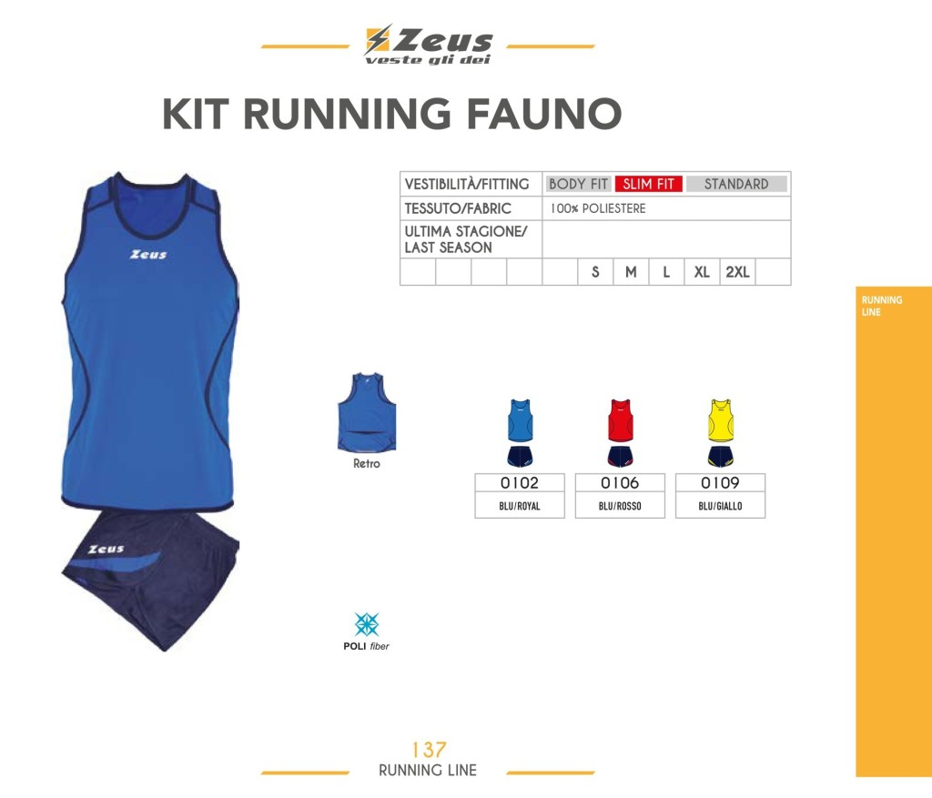 Komplety do biegania Kit Running Fauno