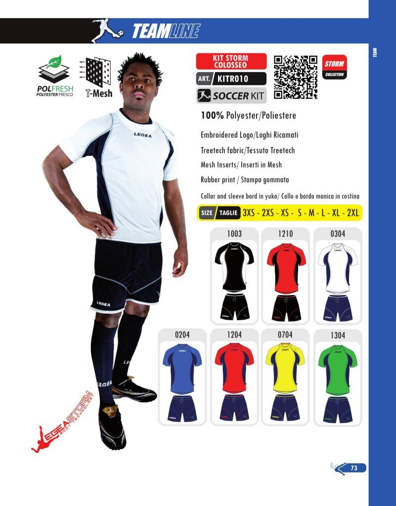 Komplety piłkarskie Legea Kit Friburgo Storm Colosseo