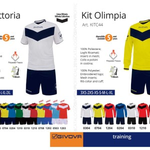 Odzież treningowa Givova Kit Vittoria Olimpia