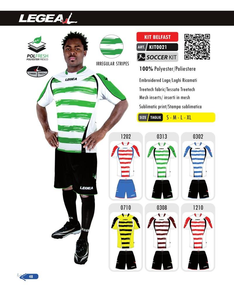 Stroje piłkarskie Legea Kit Belfast