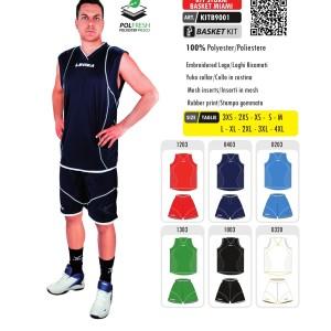 Komplety koszykarskie Legea Kit Storm Basket Miami
