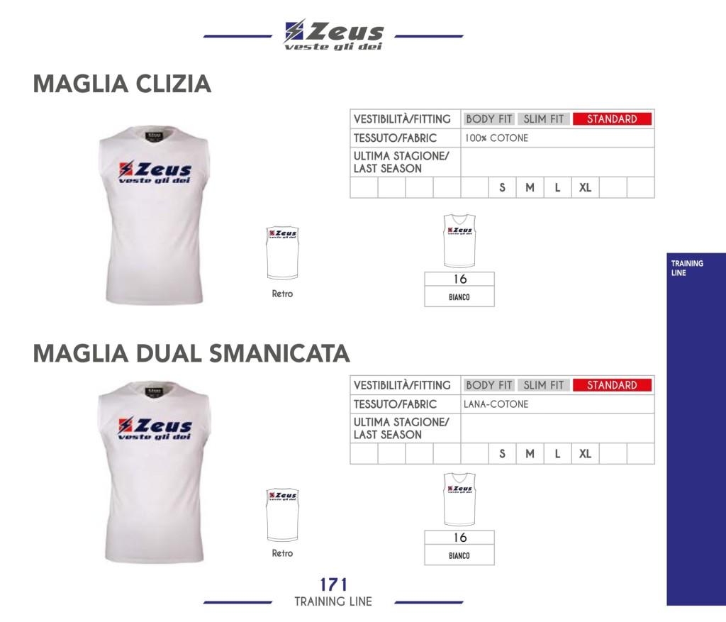 Odzież treningowa Zeus Maglia Clizia i Maglia Dual Smanicata