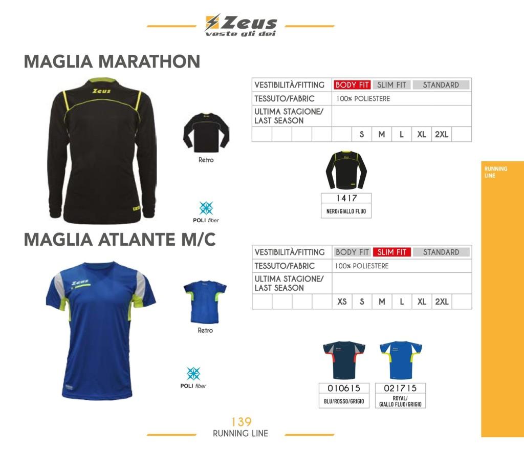Komplety do biegania Maglia Marathon i Atlante M/C