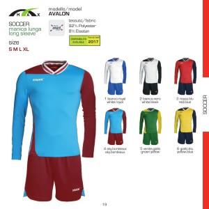 Stroje piłkarskie Max Avalon