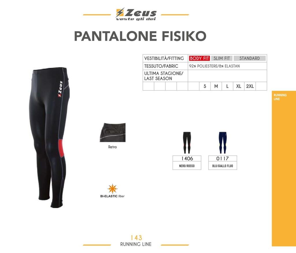 Komplety do biegania Pantalone Fisiko