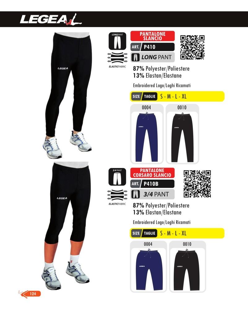 Stroje do biegania Legea Pantalone Slancio i Corsaro Slancio