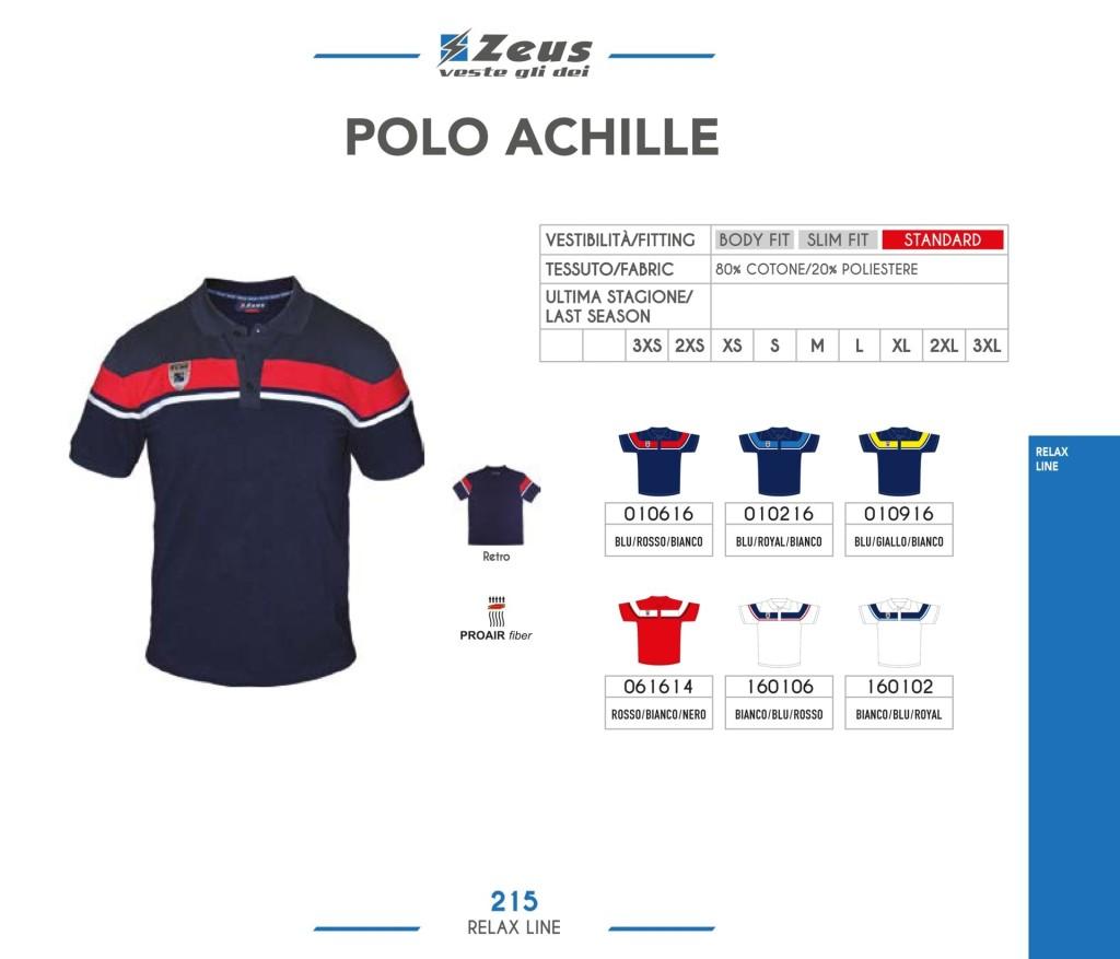 Odzież Zeus Relax Polo Achille