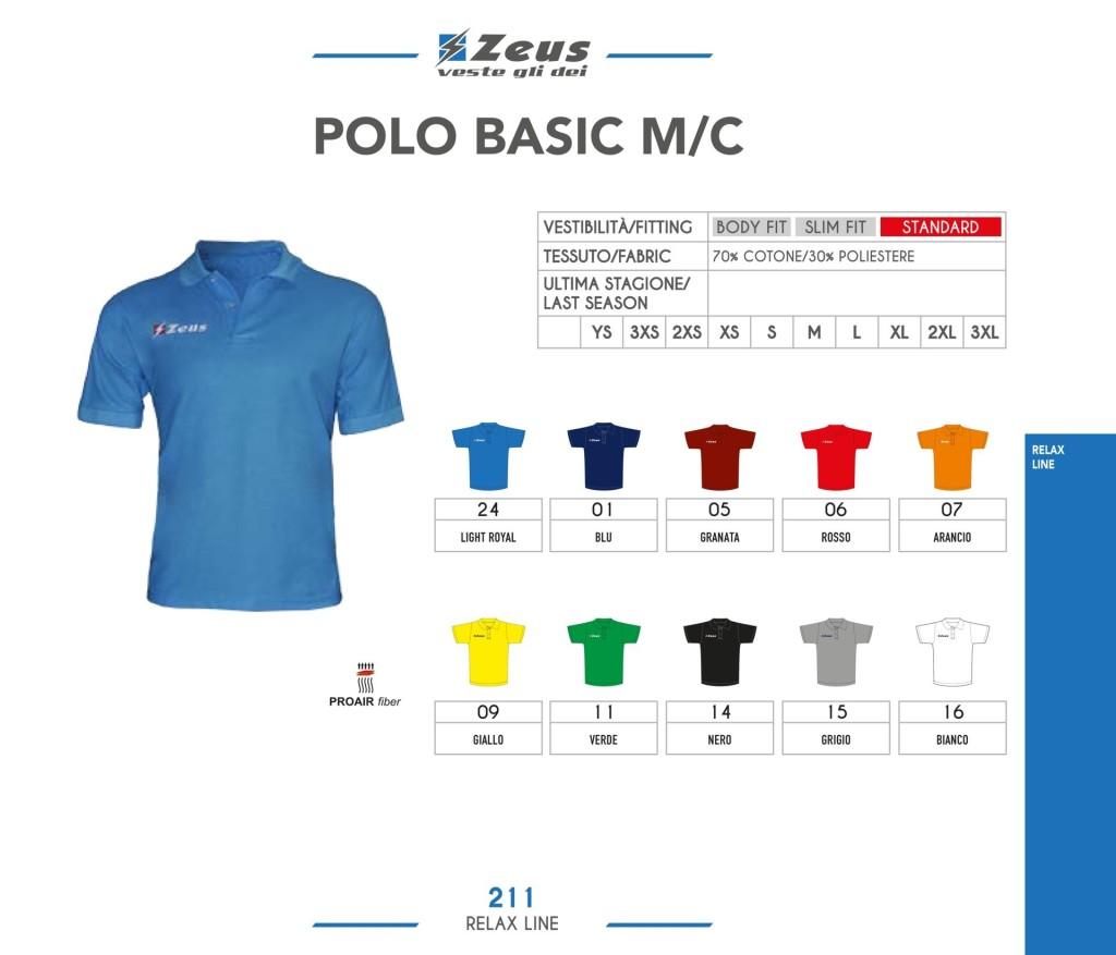 Odzież Zeus Relax Polo Basic M/C