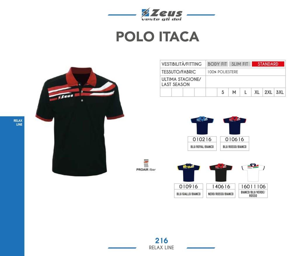 Odzież Zeus Relax Polo Itaca