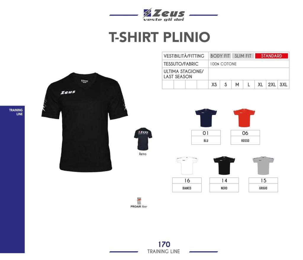 Odzież treningowa Zeus T-shirt Plinio