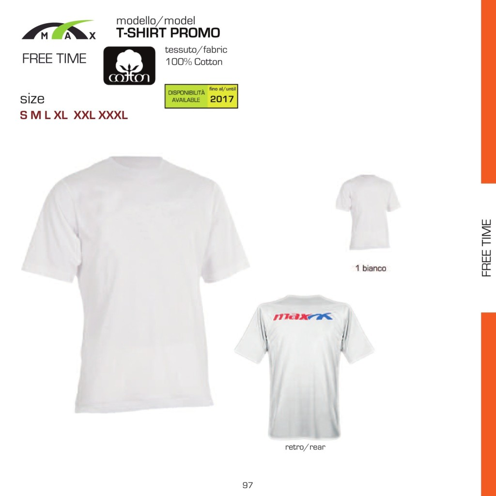 T-shirt Relax Max Promo