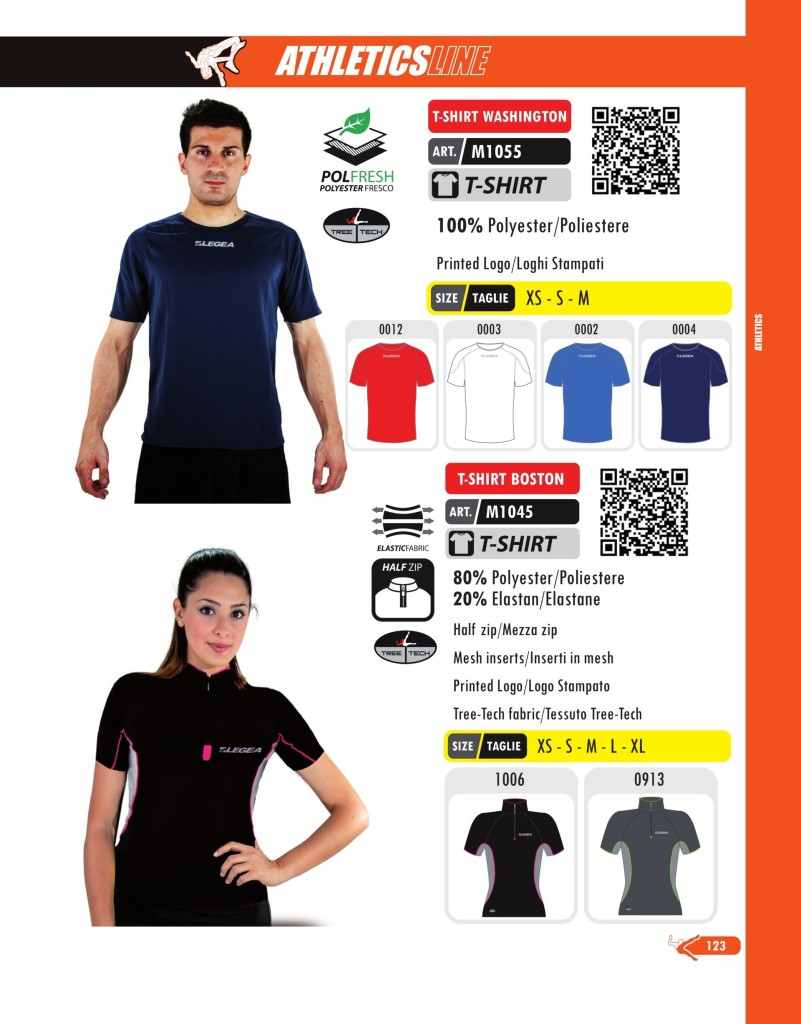 Komplety do biegania Kit T-shirt Washington i Boston