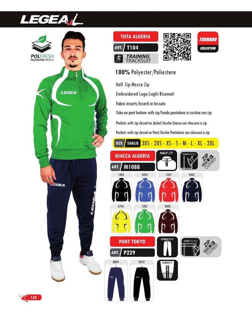 Dresy sportowe Legea Tuta Algeria