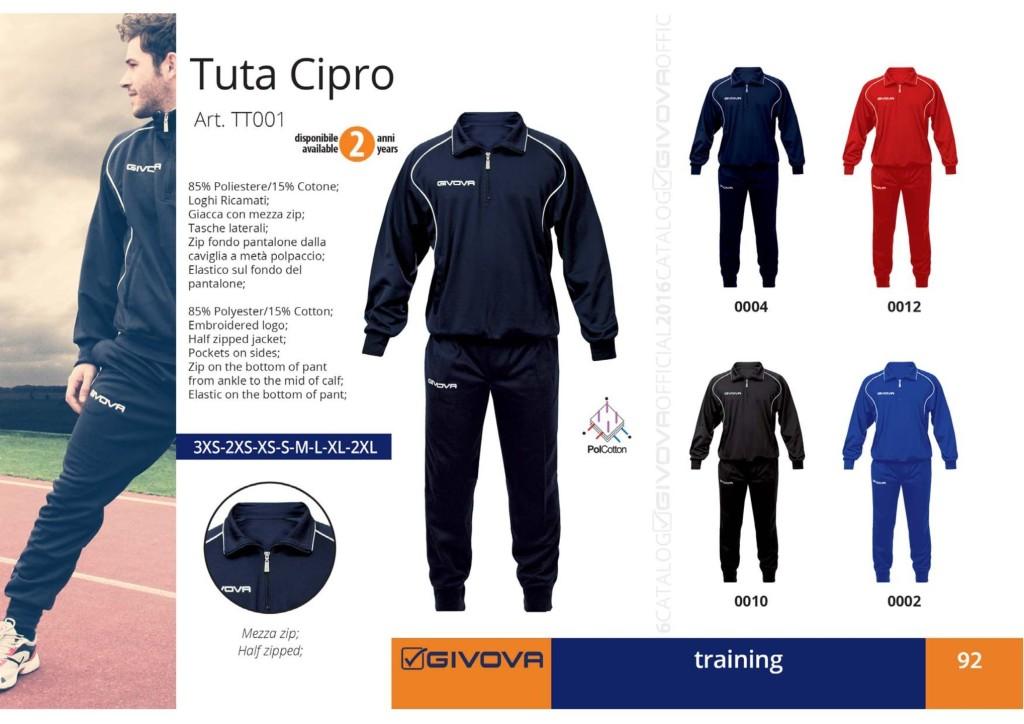 Dresy sportowe Givova Tuta Cipro
