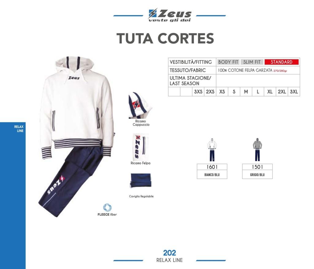 Dresy sportowe Zeus Tuta Cortes