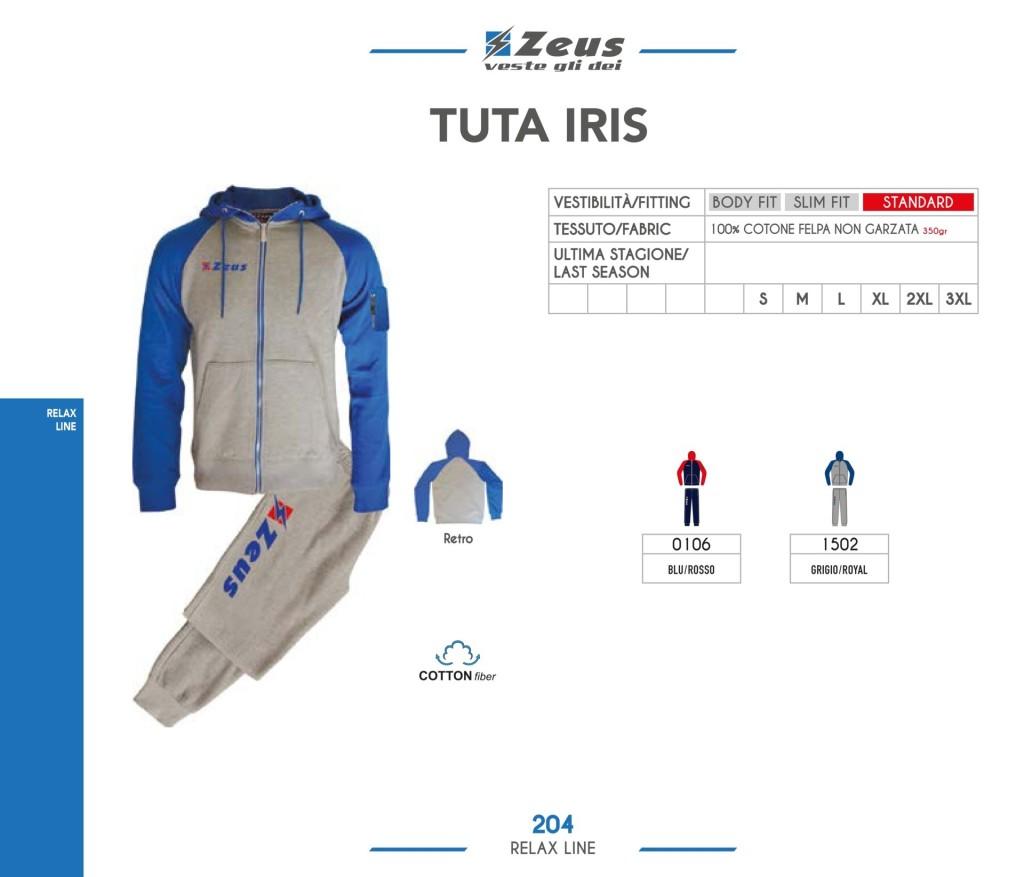 Dresy sportowe Zeus Tuta Iris