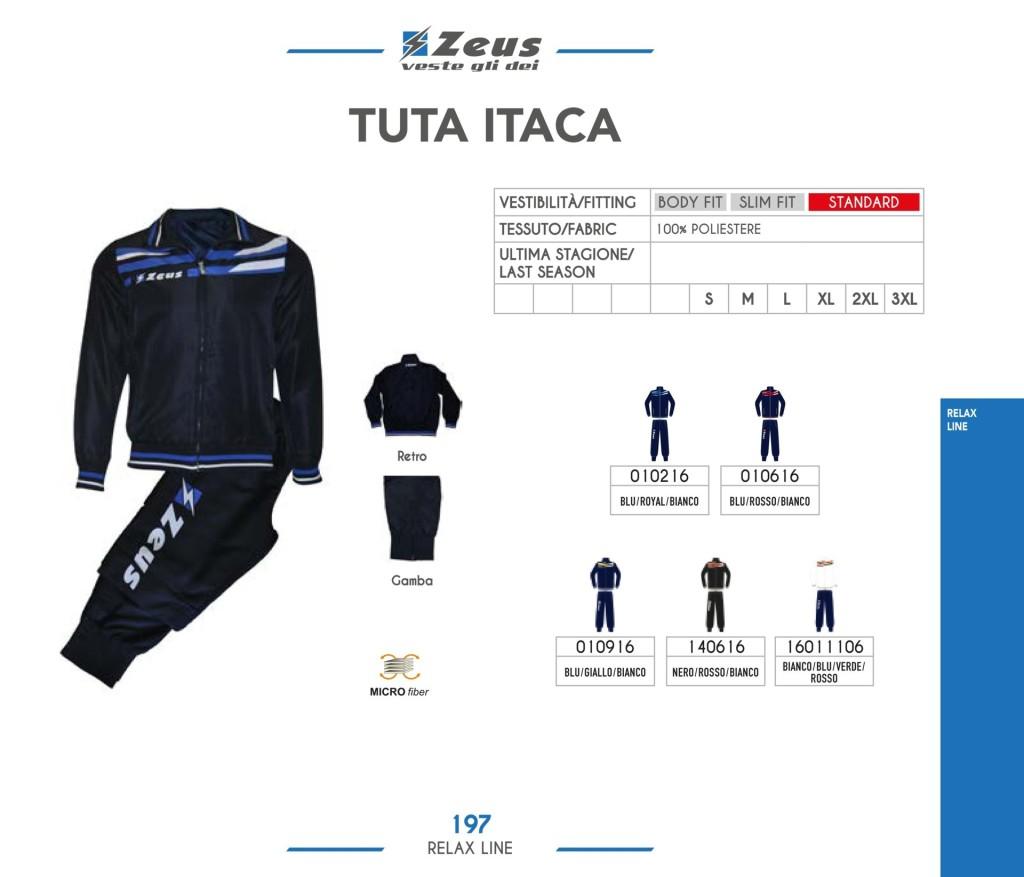 Dresy sportowe Zeus Tuta Itaca