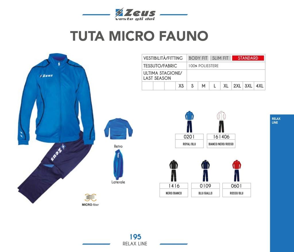 Dresy sportowe Zeus Tuta Micro Fauno