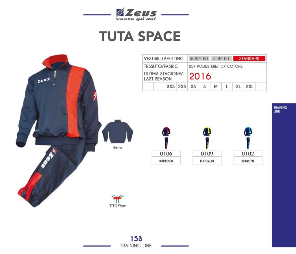 Dresy sportowe Zeus Tuta Space