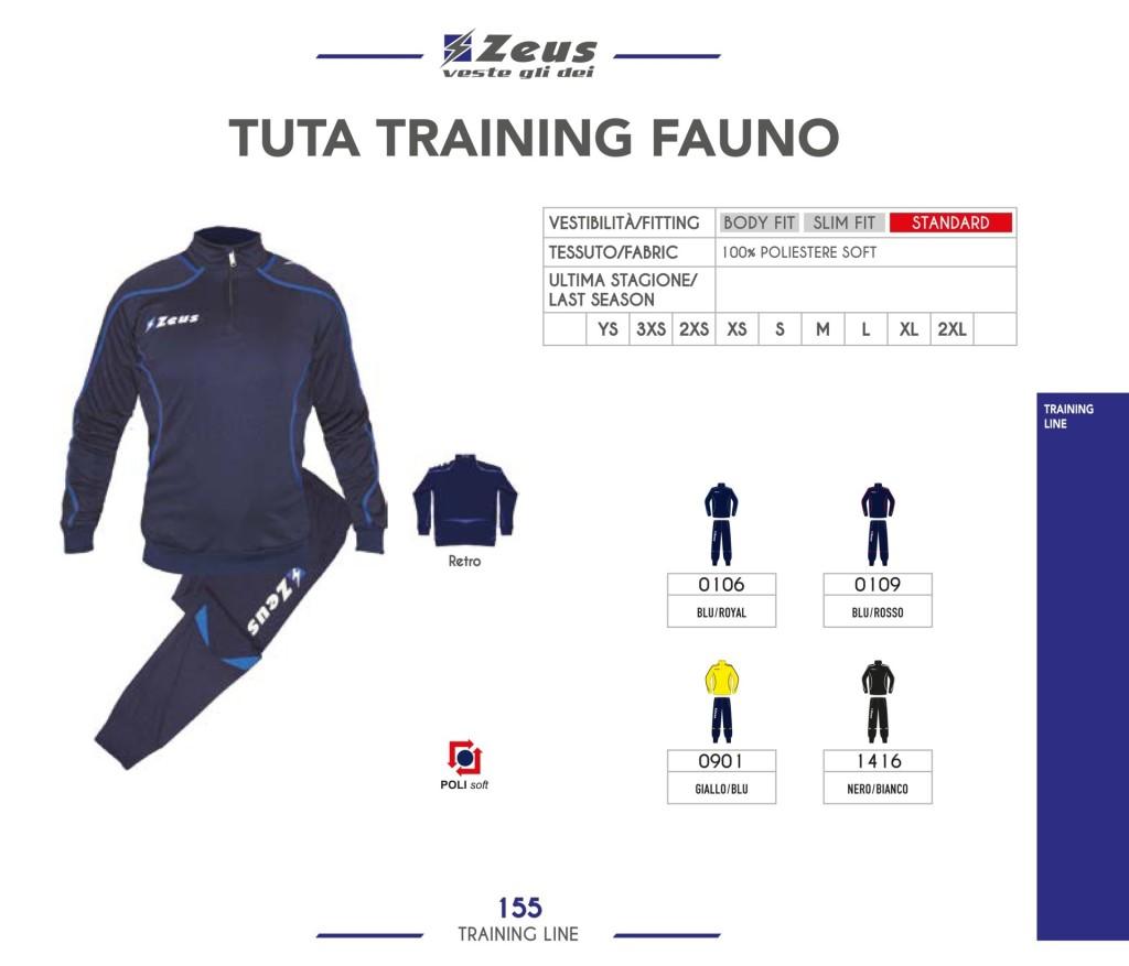 Dresy sportowe Zeus Tuta Training Fauno