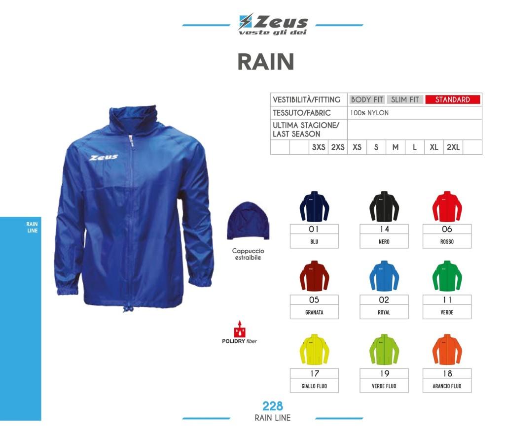 Kurtka Zeus Rain