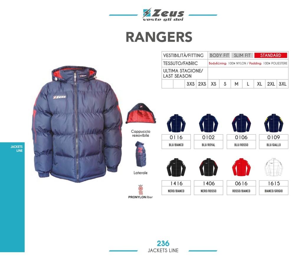 Kurtka Zeus Rangers